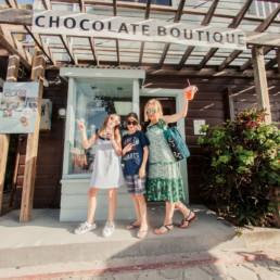Lisa Breckenridge Chocolate Boutique in Belize