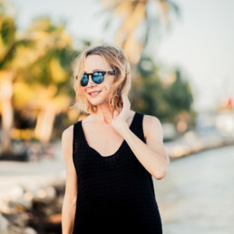 Lisa Breckenridge in Belize