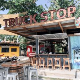 Truck Stop restaurant in Belize