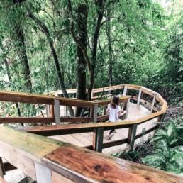 Stairway in Belize