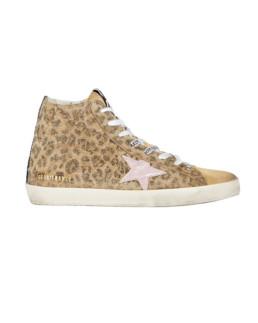 Golden Goose | Francy Leopard High-Top Sneakers