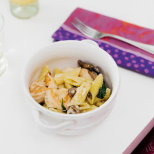 Shrimp-Mushroom-Spinach-Pasta-Lisa-Breckenridge-Recipe